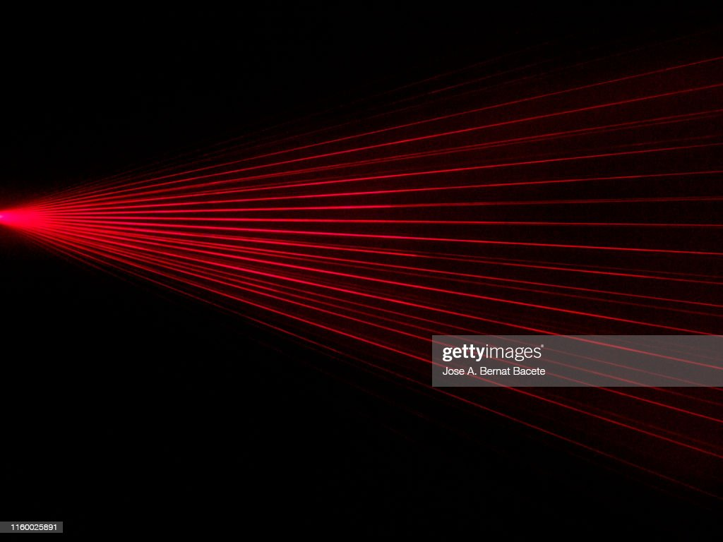 Alarm of beams laser. : Stock-Foto