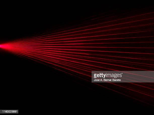 alarm of beams laser. - sensor stock pictures, royalty-free photos & images