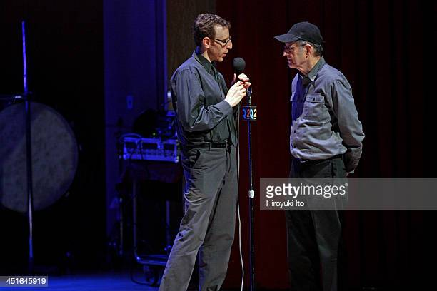 Alarm Will Sound performing all Steve Reich program at the Metropolitan Museum of Art on Saturday night November 16 2013This imageThe conductor Alan...