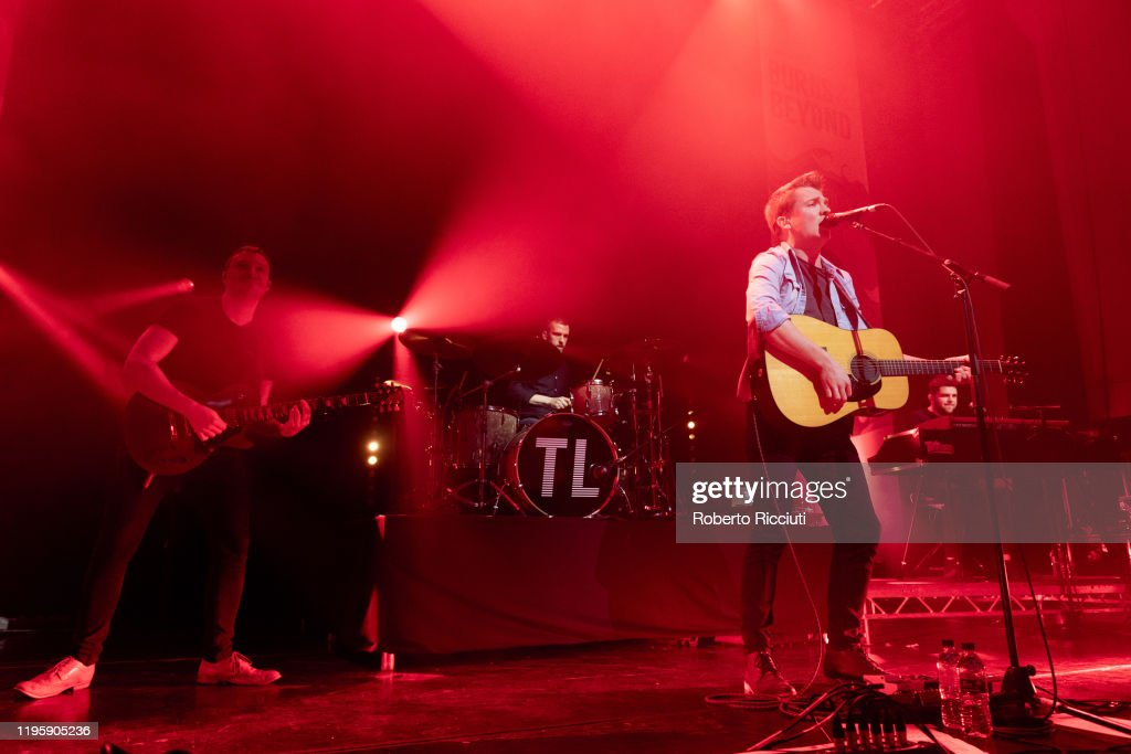 Tide Lines Perform At Assembly Rooms, Edinburgh : News Photo