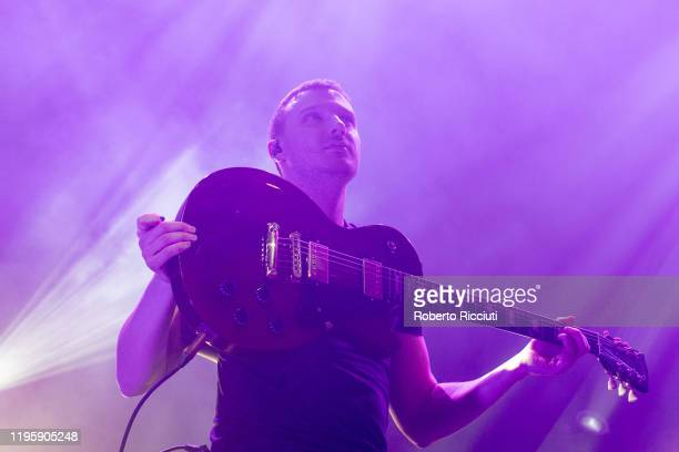 Alasdair Turner of Tide Lines performs on stage at Assembly Rooms as part of the Burns and Beyond festival on January 24 2020 in Edinburgh Scotland