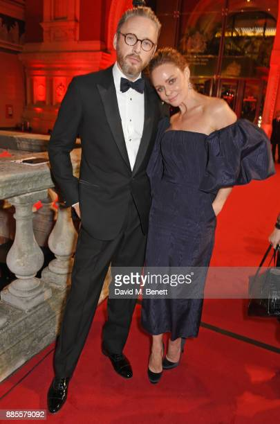 Alasdhair Willis and Stella McCartney attend The Fashion Awards 2017 in partnership with Swarovski at Royal Albert Hall on December 4 2017 in London...