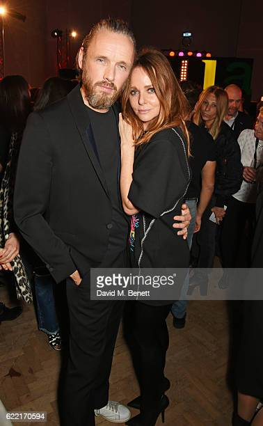Alasdhair Willis and Stella McCartney attend the Stella McCartney Menswear launch and Women's Spring 2017 collection presentation at Abbey Road...