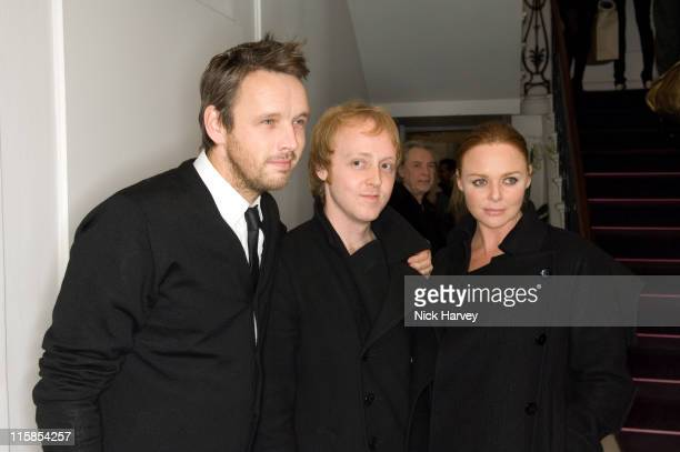 Alasdhair Willis James McCartney and Stella McCartney attend the switchingon of the Christmas lights at the Stella McCartney store London on November...