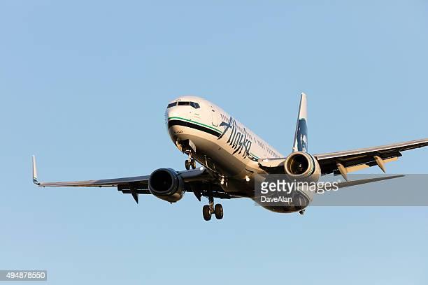 Alaska Air 737.