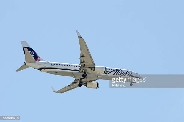 Alaska Airlines Boeing 737 jet airplane