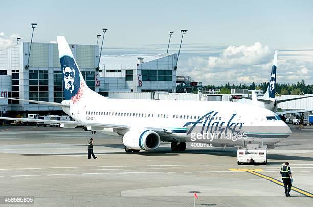 Alaska Airlines departure