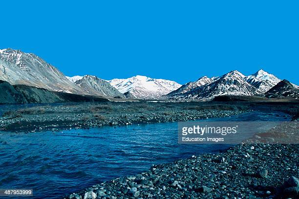 Alaska Arctic National Wildlife Refuge ANWR Brooks Range Hulahula River Valley