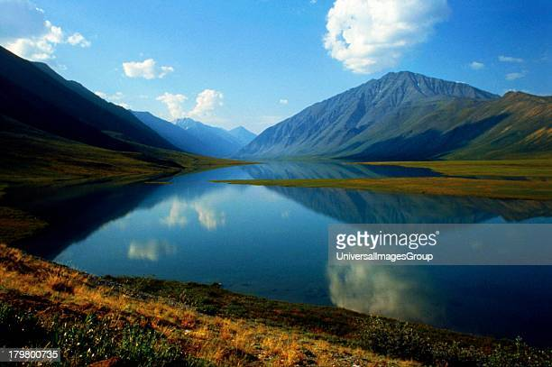 Alaska Arctic National Wildlife Refuge ANWR the Narrows from Schrader to Peters Lake