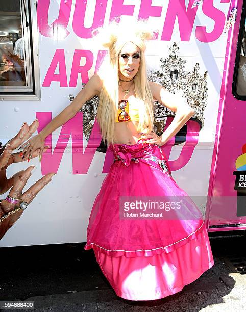 Alaska attends RuPauls' Drag Race All Stars Celebrate Season 2 With Big Gay Ice Cream at Union Square on August 24 2016 in New York City
