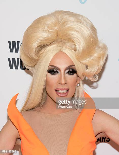 Alaska attends the 'RuPaul's Drag Race All Stars' season two premiere at Crosby Street Hotel on August 23 2016 in New York City