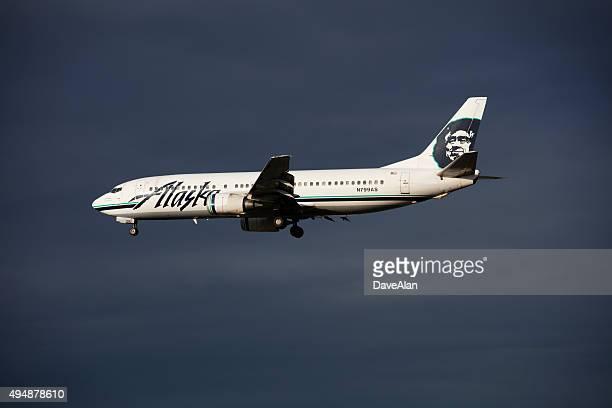 Alaska Boeing 737.