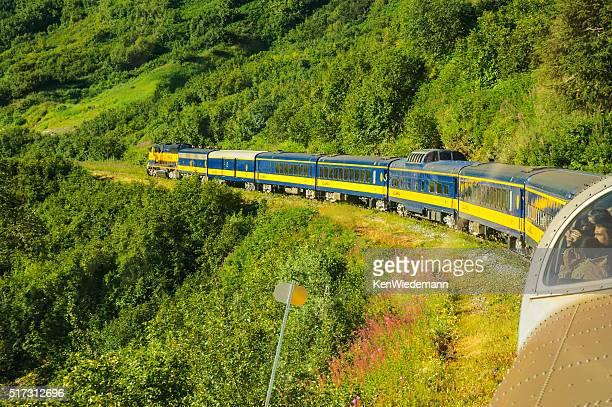 Train classique côtières de l'Alaska