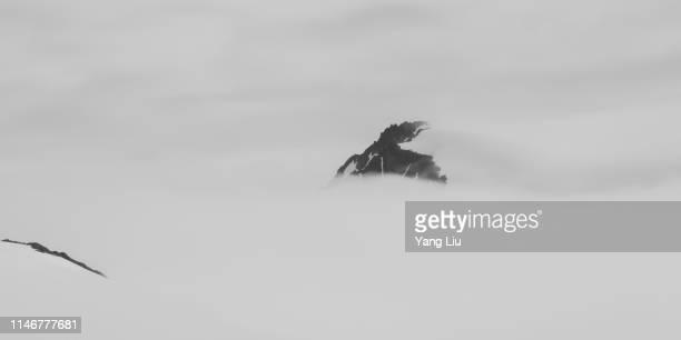 alaska - harding icefield - kenai mountains stock pictures, royalty-free photos & images