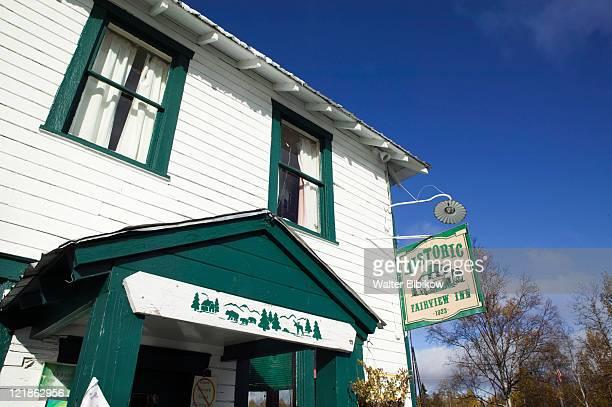 alaska, interior, talkeetna - inn stock pictures, royalty-free photos & images