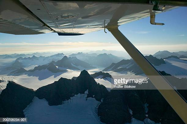 usa, alaska, kenai peninsula, kenai mountains and grewingk glacier - kenai mountains stock pictures, royalty-free photos & images