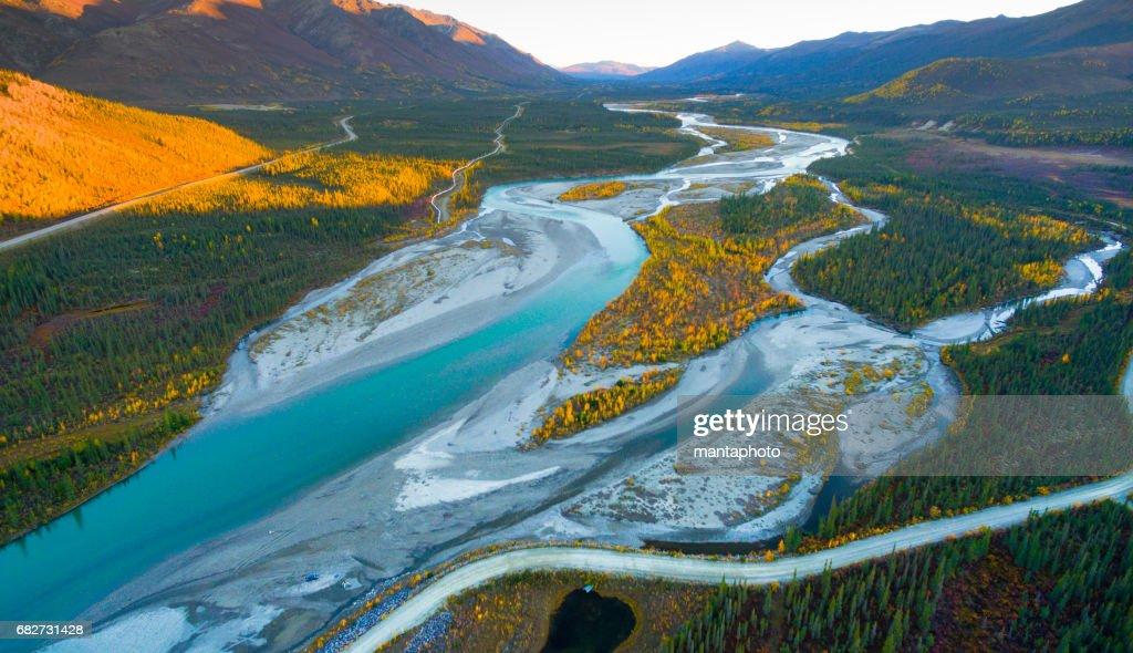 Alaska-Landschaft : Stock-Foto