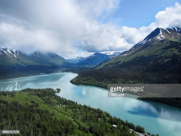 Paysage de l'Alaska
