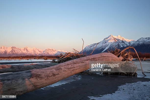 Alaska Mountain Scene