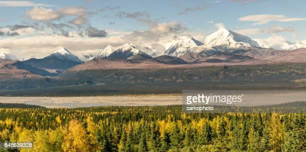 Alaska Range Fall Panorama