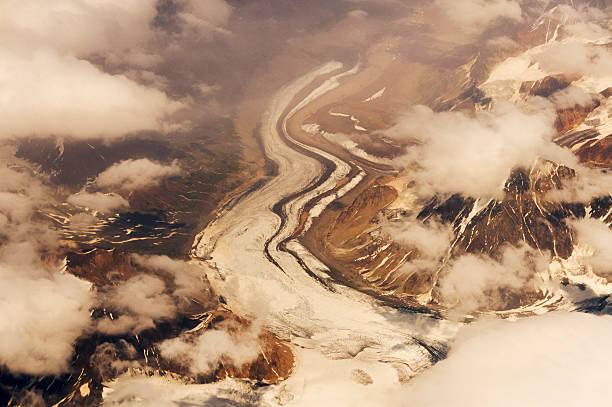 Alaska Range From Air Wall Art