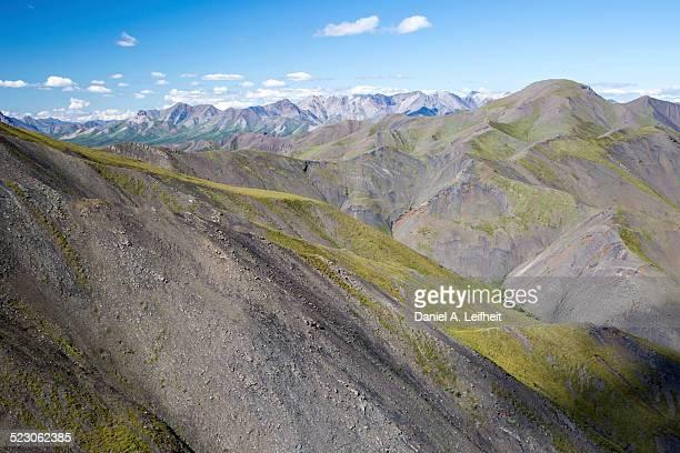 Alaska Range Mountains