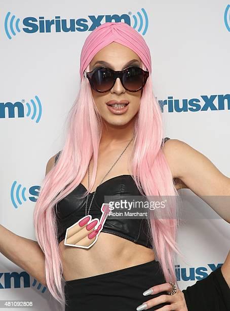 Alaska Thunderfuck 5000 visits at SiriusXM Studios on July 17 2015 in New York City