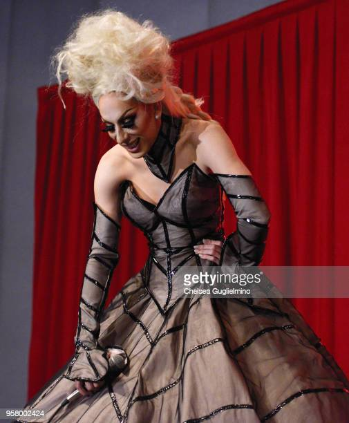 Alaska Thunderfuck attends 4th annual RuPaul's DragCon at Los Angeles Convention Center on May 12 2018 in Los Angeles California