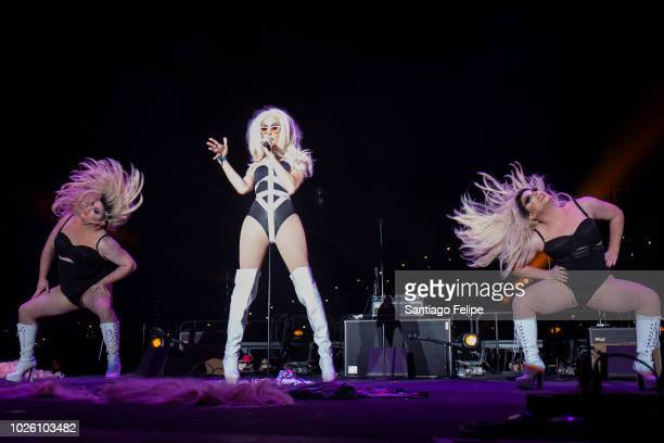 Alaska Thunderfuck performs onstage during Wigstock at Pier 17 on September 1 2018 in New York City