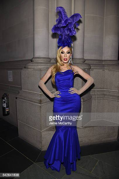 Alaska Thunderfvck attends 2016 Logo's Trailblazer Honors at Cathedral of St John the Divine on June 23 2016 in New York City