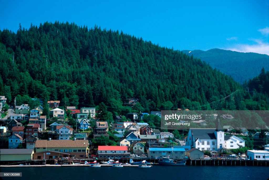 Overview of Ketchikan (and the Tongass Narrows), Southeast
