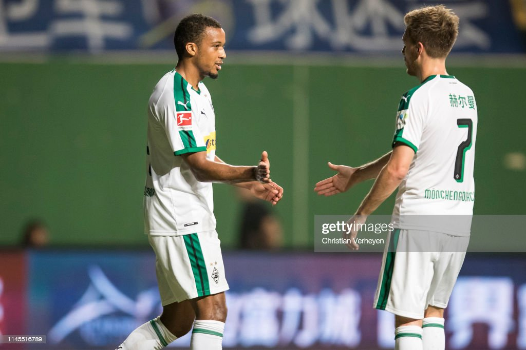 CHN: Guangzhou R&F v Borussia Moenchengladbach - Borussia Moenchengladbach China Tour 2019