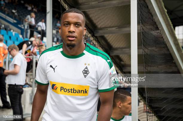 Alassane Plea of Borussia Moenchengladbach during the HHotels Pre Season Tournament between Borussia Moenchengladbach and VfL Bochum on July 22 2018...