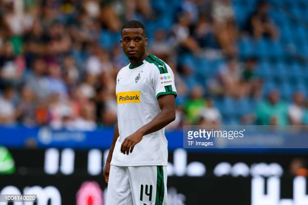 Alassane Plea of Borussia Moenchengladbach looks on during the HHotels Cup match between VfL Bochum and Borussia Moenchengladbach at Vonovia...