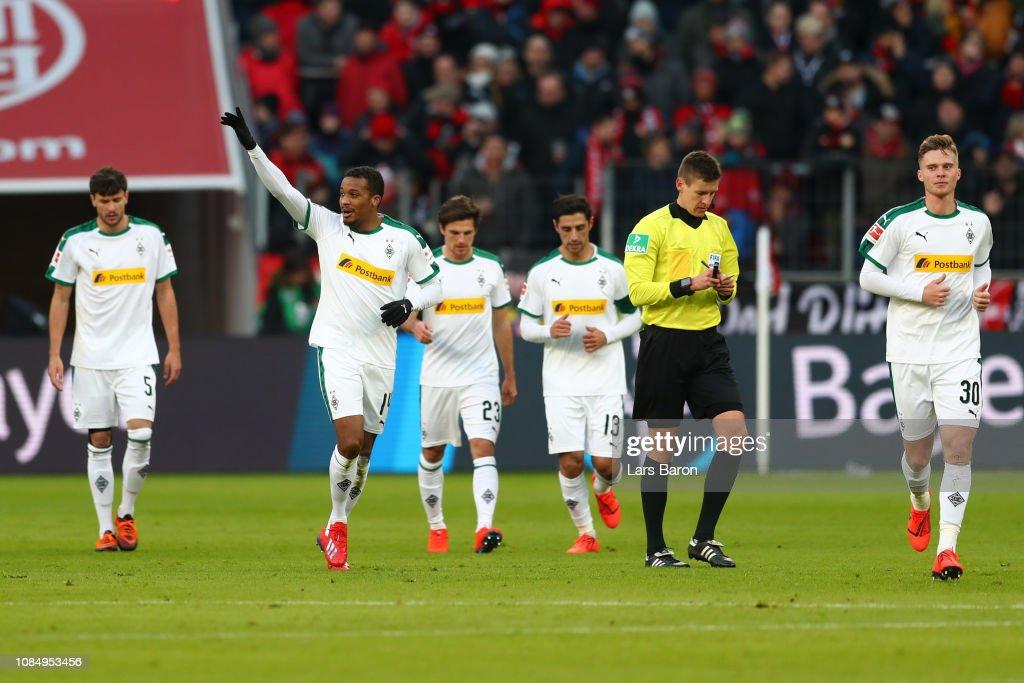 Bayer 04 Leverkusen v Borussia Moenchengladbach - Bundesliga : Nachrichtenfoto
