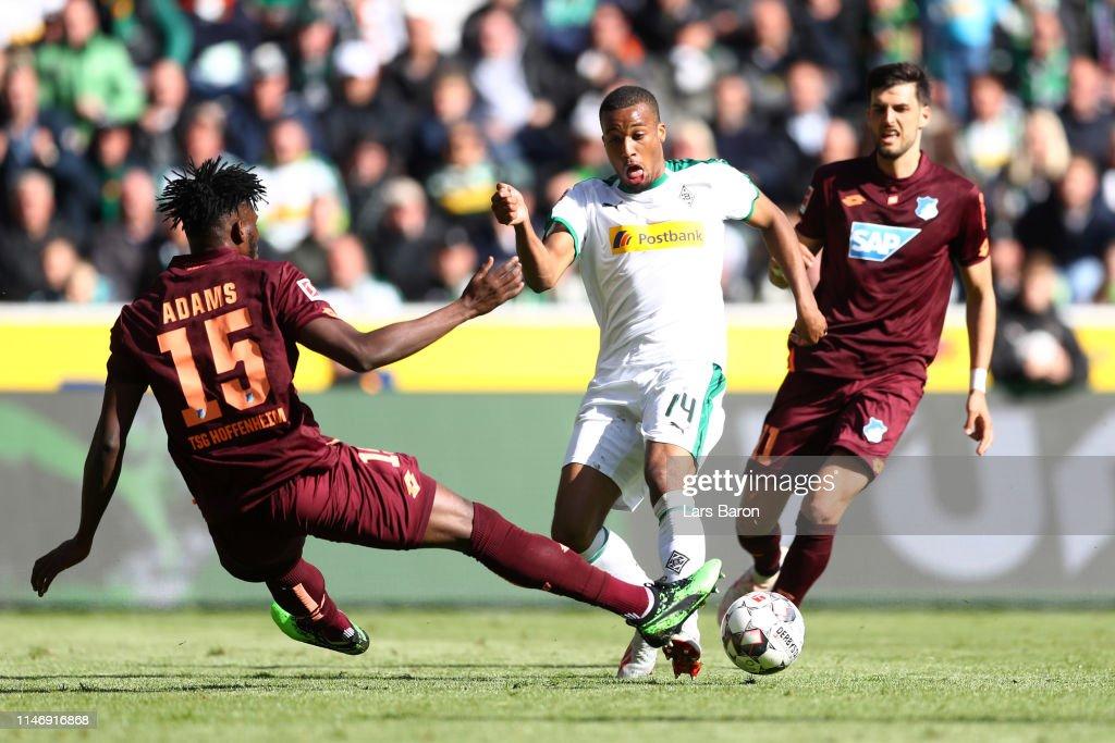 DEU: Borussia Moenchengladbach v TSG 1899 Hoffenheim - Bundesliga