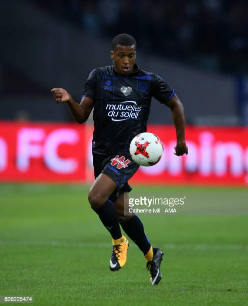 Alassane Plea of OGC Nice during the UEFA Champions League Qualifying Third Round match between Ajax and OSC Nice at Amsterdam Arena on August 2 2017...