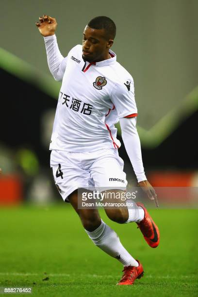 Alassane Plea of OGC Nice during the UEFA Europa League group K match between Vitesse and OGC Nice at on December 7 2017 in Arnhem Netherlands