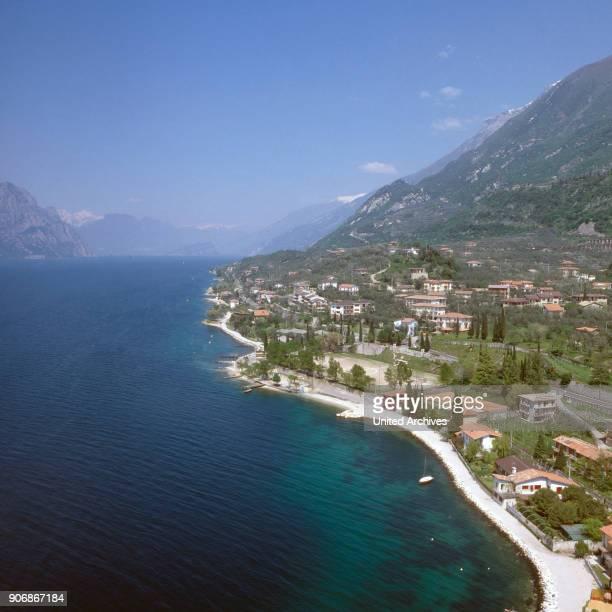 Alassio in Liguria in Italy 1980s