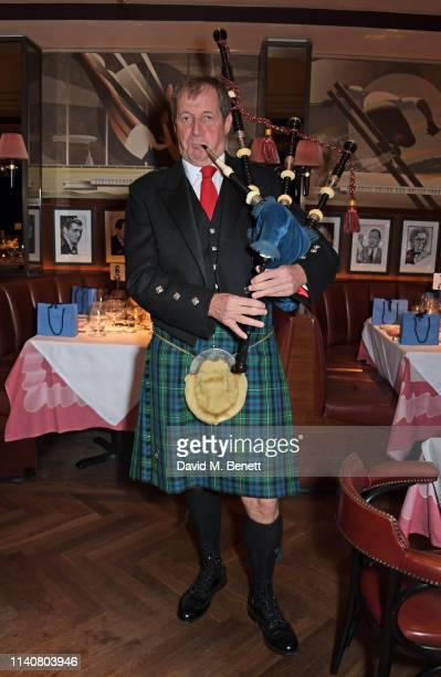 Alastair Campbell attends a private dinner to celebrate Dylan Jones' 20th anniversary as EditorInChief of British GQ at The Beaumont Hotel on May 2...
