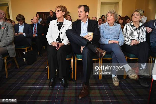 Alastair Campbell former Director of Communications for the UK Labour Government helps launch MSP Ken Macintosh's election campaign for the Scottish...