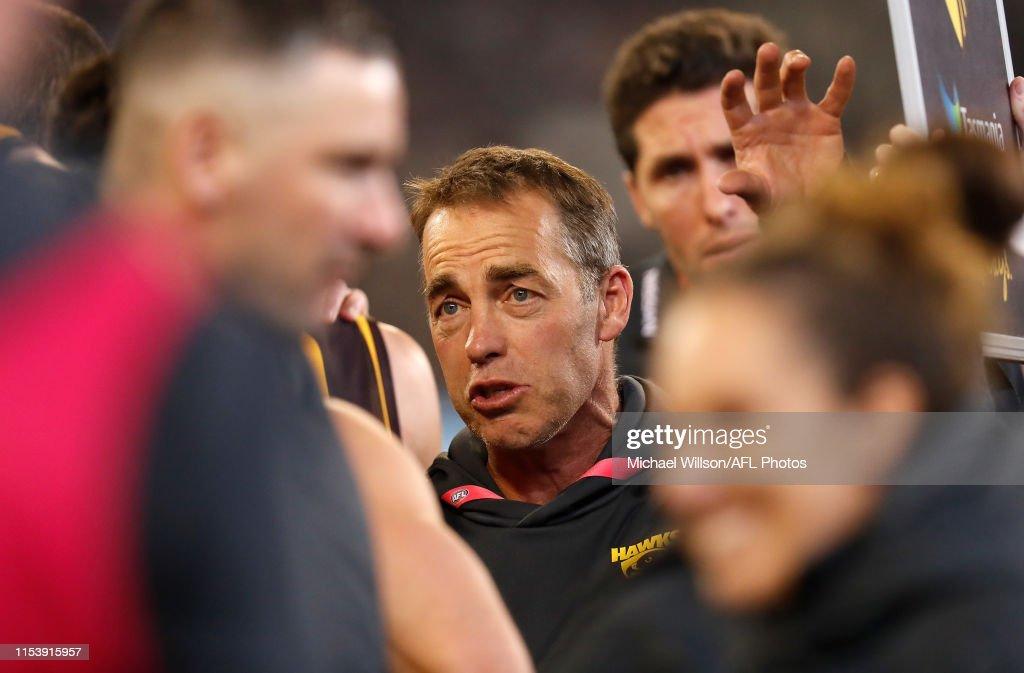 AFL Rd 16 - Hawthorn v Collingwood : News Photo