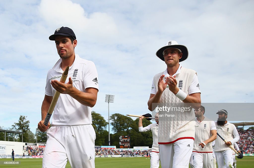 England v Australia: 1st Investec Ashes Test - Day Four : News Photo