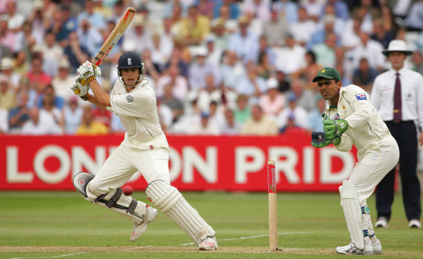 Alastair Cook, 105 v Pakistan, Lord's, July 2006