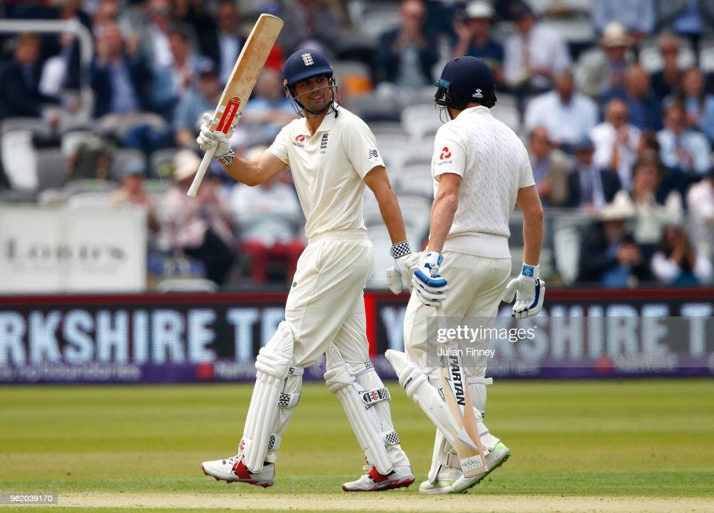 England v Pakistan: NatWest 1st Test - Day One : News Photo