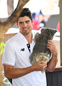 townsville australia alastair cook england holds