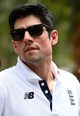 townsville australia alastair cook england looks