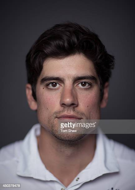 Alastair Cook of England poses for a portrait during the England portrait session at Lord's Cricket Ground on June 10 2014 in London England