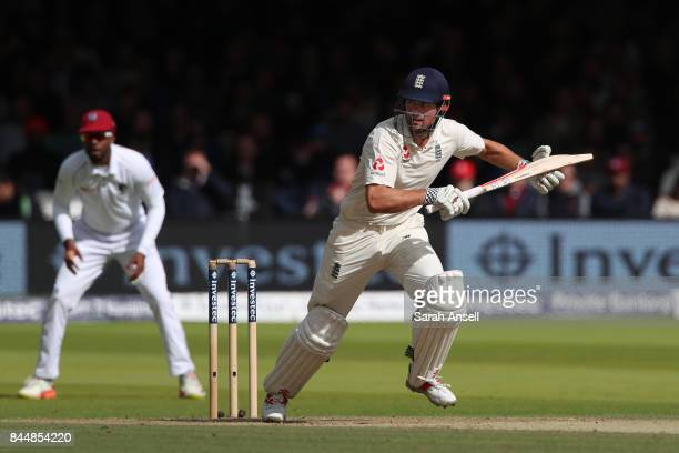 Alastair Cook of England runs a quick single during day three of the 3rd Investec Test match between England and West Indies at Lord's Cricket Ground...