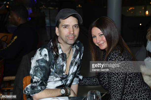 Alastair Mackie and Fran Cutler attend as Another Magazine host special dinner to celebrate the Comme Des Garcons cover of the SS17 at The Store...